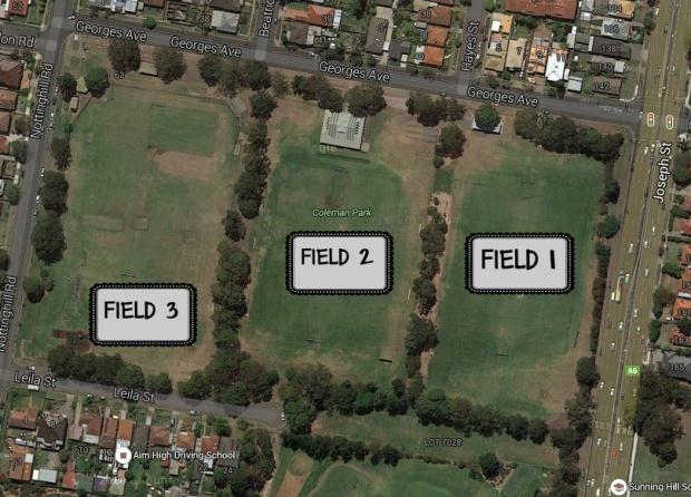 Coleman Park Map